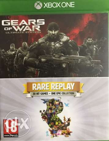 XBOX ONE 2 Games. Gears of War & Rare Replay