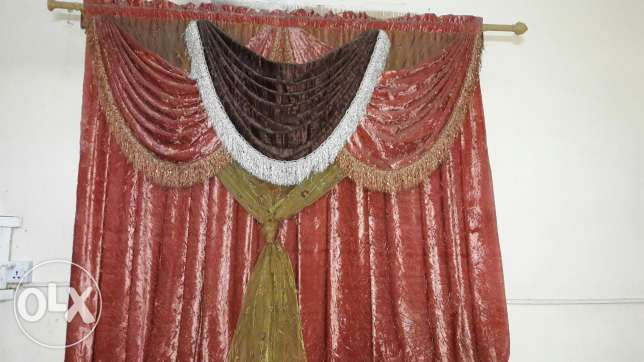 Curtains very good condition