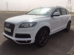 Audi Q7 S-line Edition (Special Order) 2013