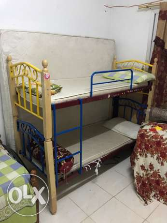 kids Bunk bed, Slide, study Table