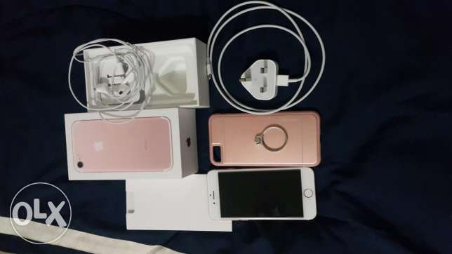 Iphone 7 32G Rose Gold (used for 1 week only)