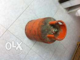 Gas cylinder not loaded- 1 No