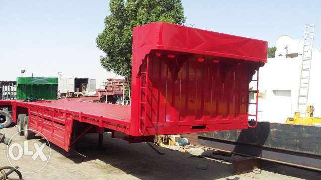 brand new heavy duty bogie trailers with five year warranty of 65 ton
