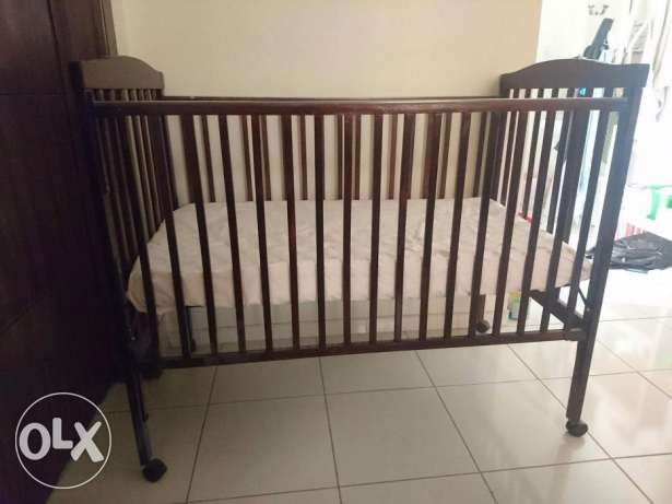 Juniors baby crib / cot with much more