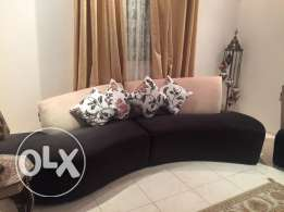 Sofa Set (8 seater) in excellent condition