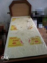 Single Bed & Medical Spring Mattress