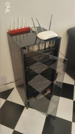 Kenwood home audio system with original cabinet جدة -  3