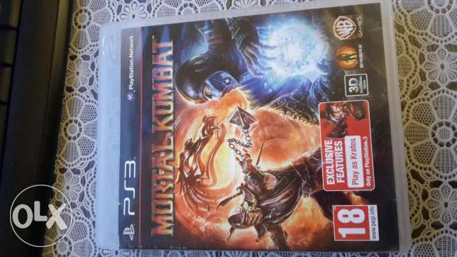 PS3 Game - Mortal kombat - Exchange with ps vita games