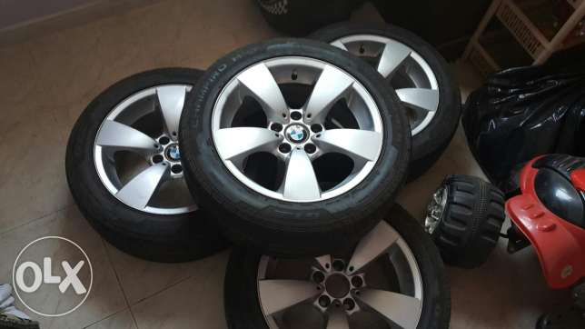 "BMW Rims 17"" With GT Radial Champiro Tyres"