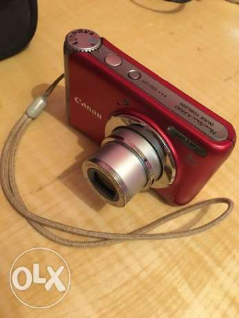 Canon Camera 12MP, RED Colour