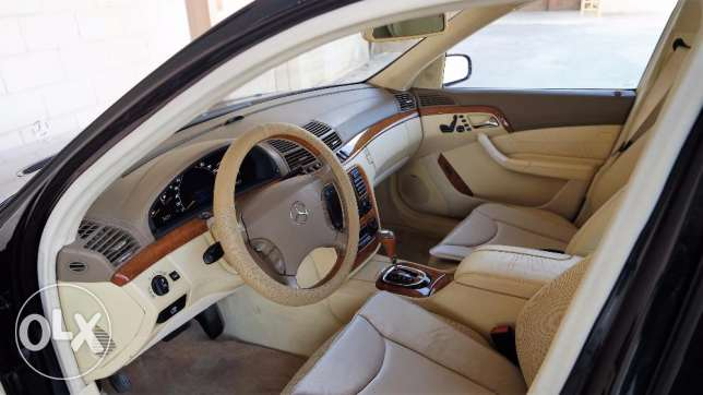 Low mileage Mercedes S-500 for sale الرياض -  6