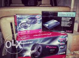 Complete Sound system For Car