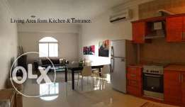 2 bedroom modern compound flat pool & gym only SAR 34K