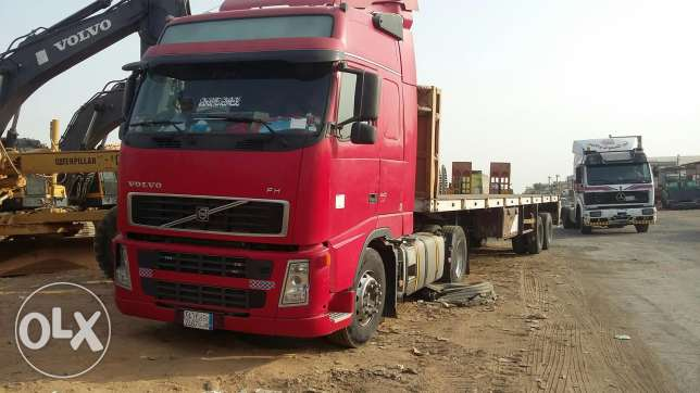Volvo FH 2008 cloure Red