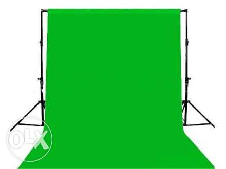 Chroma Key Green Screen 3m x 6m