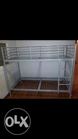 ikea double decker bed