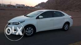 Toyota Corolla XLI 1.6 White Automatic 2015 Model