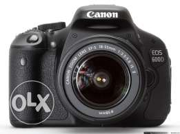 Canon 600D body with lens 18-55
