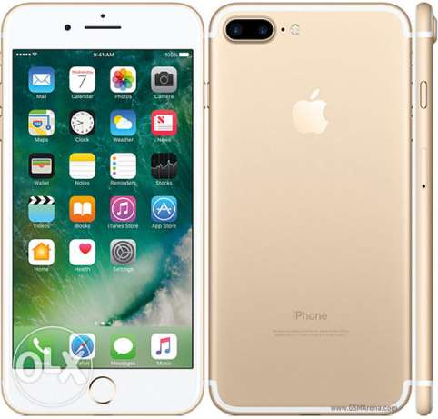 Iphone 7plus gold 128 gb with facetime جدة -  1