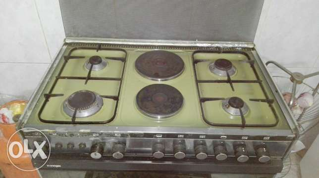 Cooking Range made in Italy.