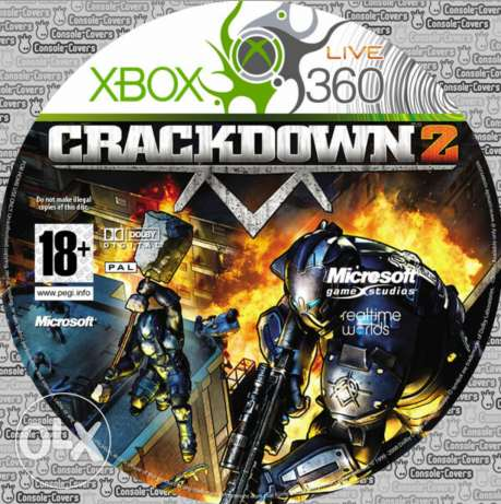 Crackdown down 2