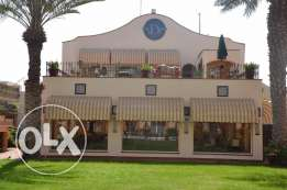 2 bedrooms / 2 bathrooms / kitchen/ dinning room and main salon. Divona Compound