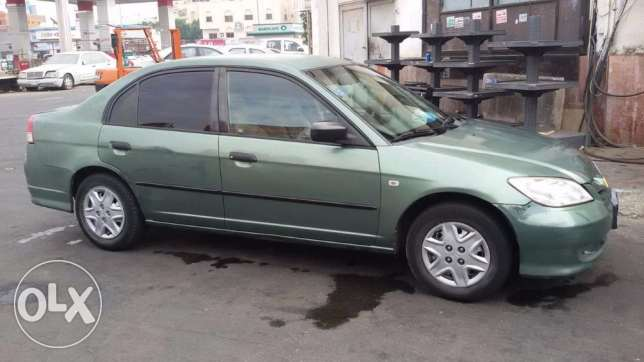 SAR 8500 / Honda Civic, 2004, automatic, 206500 KM, for SALE URGENT.