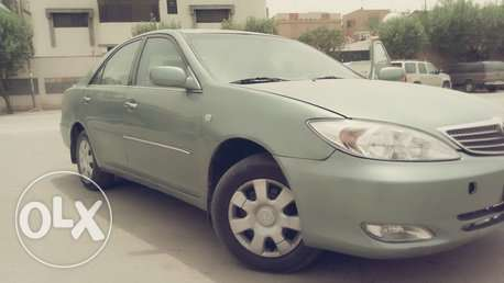 Toyota Camry,2003,Manual,Full option,Olive Colour with good Condition