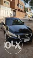 Honda Accord Black 2008 Well Maintained No Accident SAR 27,000