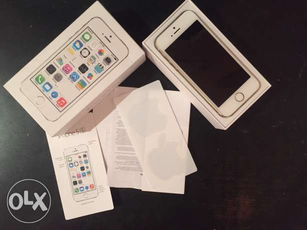 IPhone 5s gold 64 GB with FaceTime الرياض -  3