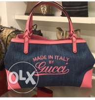 Gucci Denim Tote Italy limited edition for sale