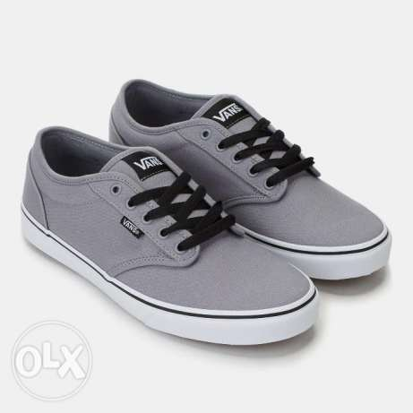 VANS Atwood Grey Shoe Size 43 (10 US) New