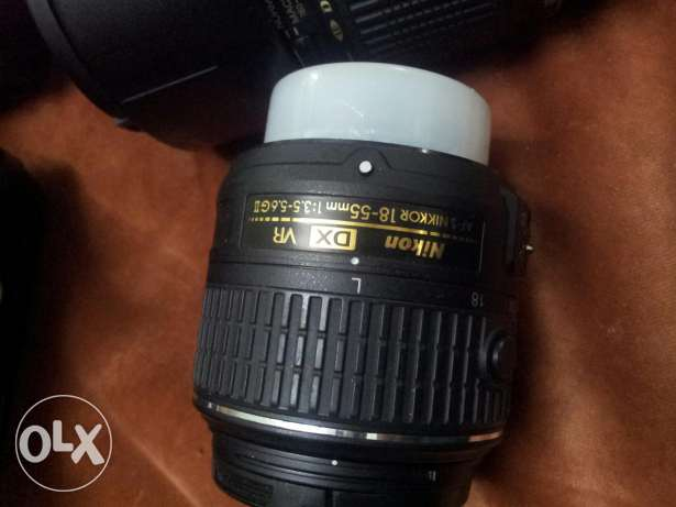 Nikon d3300 with 2lenses + ultra wide and macro lence with all accesso جدة -  3