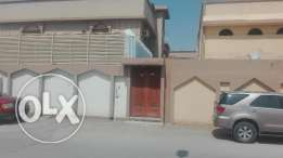 2BR ,1hall ,Kitchen ,2 Washroom for Rent With House Hold Items Azizia