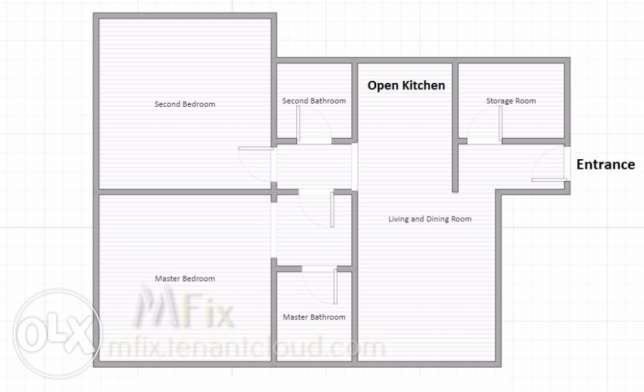Modern 2 bedroom I Brand New I Fitted Kitchen I Big Living Room I