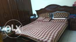 Excellent condition. King size bedroom set Bedroom set