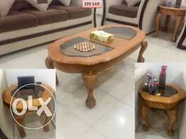 3 Wooden center table in very good condition
