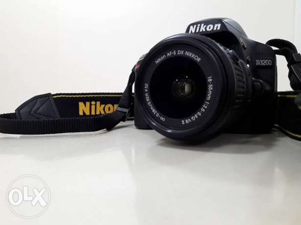 Nikon D3200 use only 3 months