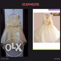 Yellow dress for 4-5 years