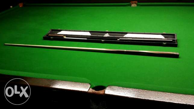 """CUESOUL 57"""" Handcraft 3/4 Jointed Snooker Cue Set -Rosewood Butt الرياض -  2"""