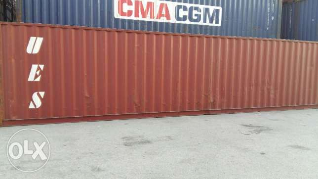 Empty shipping containers for sale