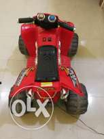 ATV, two wheel drive with 12 v battery