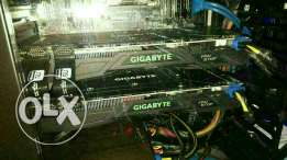 G1 gigabyte GEFORCE GTX card