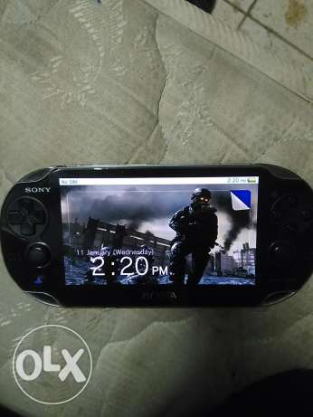 Ps vita and games card