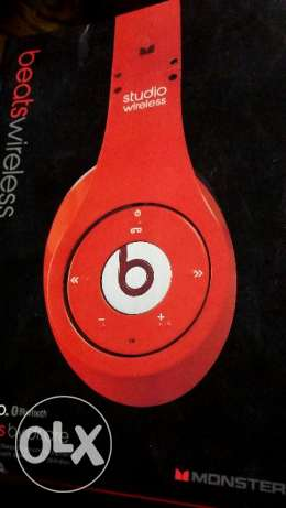 Beats by dr.dre studio wireless (bluetooth headset) $299 negotiable