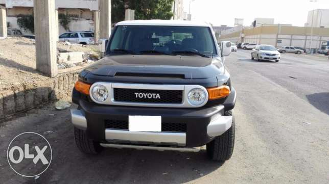 Toyota FJ Cruiser 2014 with low mileage 6650km only جدة -  2