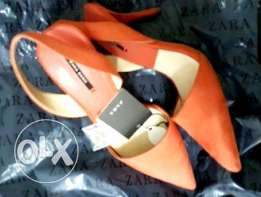 Brand new ZARA Ladies shoes size 38