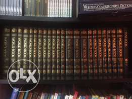 Encyclopedia complete volume plus Dictionary for sale!