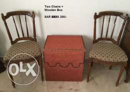 Two Chairs + Box