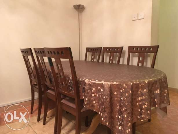 Dining Table Set (With 6 Chairs)